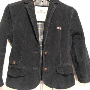 Cordaroy navy blue blazer